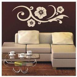 Wally - piękno dekoracji Szablon malarski kwiaty 0985