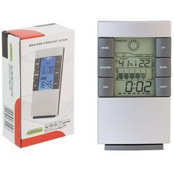 Elektroniczna stacja pogody zegar temperatura marki Apte