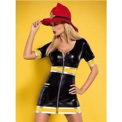 Firegirl kostium 3-częściowy L/XL z kategorii kostiumy erotyczne