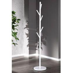 Wieszak stojący tree biały - biały marki Interior space