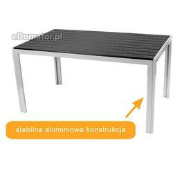 Stół ogrodowy aluminiowy MODENA - Czarny z kategorii Stoły ogrodowe