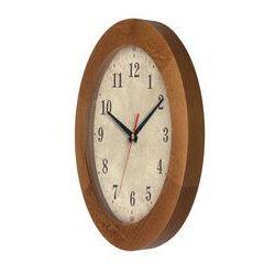 Zegar drewniany solid Arabic, ATW300AA