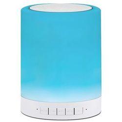 Lampka dekoracyjna FUNNY biała RGB na bluetooth LED POLUX (5901508306128)