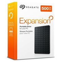 Seagate  expansion portable drive 500gb czarny