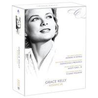 Gwiazdy kina: Grace Kelly - Złodziej w hotelu, Dziewczyna z prowincji, W samo południe, Mosty Toko-Ri (4 DVD