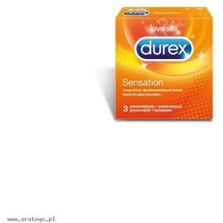 Prezerwatywy  sensation a3 od producenta Durex