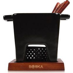 Zestaw do fondue tapas czarny duży marki Boska
