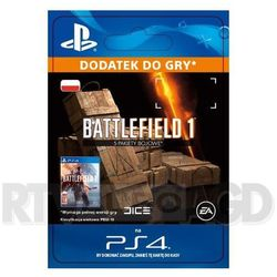 Battlefield 1 - 5 pakiety bojowe [kod aktywacyjny], marki Sony