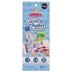 Etykiety Mabel's Labels niebieskie ()