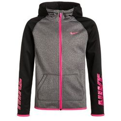 Nike Performance Kurtka sportowa black heather/black/hyper pink od Zalando.pl