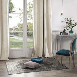 Atmosphera Zasłona okienna w kolorze beżowym wykonana z poliestru to idealna ozdoba domowego wnętrza. (3560238336724)