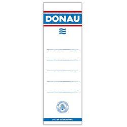 Donau Etykiety wsuwane do segregatora , 48x153mm, dwustronne, 20szt.