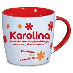 Nekupto, Karolina, kubek ceramiczny imienny, 330 ml