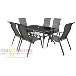 Hecht stół + 6 krzeseł honey set maxi