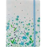Notatnik Mini Niebieskie Kwiaty