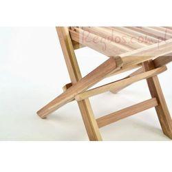 Krzesło dziecięce do ogrodu z drzewa tekowego - sprawdź w wybranym sklepie