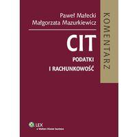 CIT. Podatki i rachunkowość