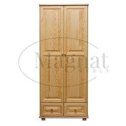 Szafa drewniana 2d nr5 wieszak s90 marki Magnat - producent mebli drewnianych i materacy