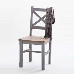 Baron krzesło z litego drewna - szary marki Fato luxmeble