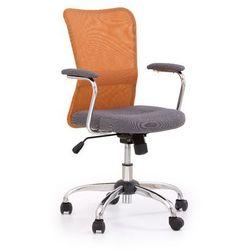 Fotel młodzieżowy obrotowy HALMAR ANDY pomarańczowy