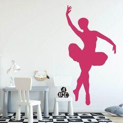 Naklejka welurowa dla dzieci tancerka 2404 marki Wally - piękno dekoracji