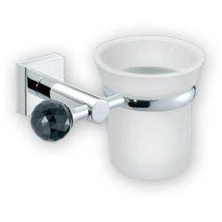 Sanco Elegancki kubek łazienkowy na szczoteczki do zębów satin 5801