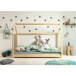 Domek, łóżko do pokoju dla dziecka, bella, drewno, sosna marki Kocotkids
