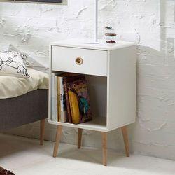 Soft line stolik nocny styl retro marki Steens