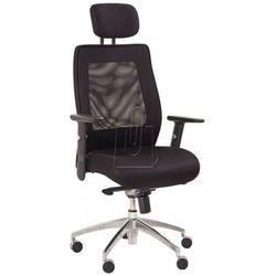 Fotel gabinetowy victor czarny - gwarancja bezpiecznych zakupów - wysyłka 24h marki Halmar