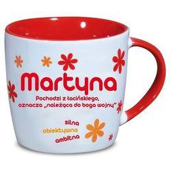 Nekupto, Martyna, kubek ceramiczny imienny, 330 ml
