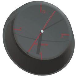 - glamour zegar ścienny, czarny marki Bugatti