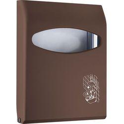 Podajnik na podkładki sedesowe brązowy, marki Marplast