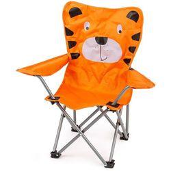 Dziecięce krzesełko składane Hatu, tygrys, 57 x 60 x 32 cm