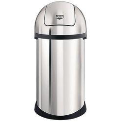 Kosz ze stali nierdzewnej | 60L | 405x405x(H)830mm - produkt z kategorii- Pojemniki i kosze gastronomiczne