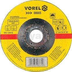 Tarcza do szlifowania metalu 125x6,8x22 / 08665 /  - zyskaj rabat 30 zł marki Vorel