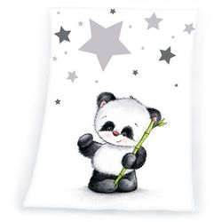 koc dla dzieci fynn star panda, 75 x 100 cm marki Herding
