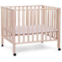 kojec - łóżeczko dziecięce z naturalnego buku, pa94na marki Childwood