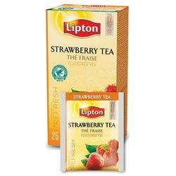 Czarna aromatyzowana herbata Lipton Classic Strawberry 25 kopert, kup u jednego z partnerów