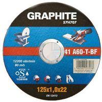 Tarcza tnąca  do metalu 125 x 1.6 x 22 mm. 41 a60-t-bf marki Graphite