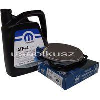 Olej MOPAR ATF+4 oraz filtr automatycznej skrzyni biegów NAG1 Dodge Charger