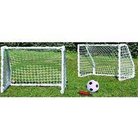 Vs Zestaw bramek piłkarskich vizari z piłką i pompką (61 x 45.5 x 30 cm) (5902431003153)