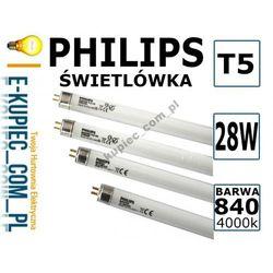 ŚWIETLÓWKA LINIOWA T5 28W/840 Philips 28W 4000K - produkt dostępny w Sklep elektryczny www.e-kupiec.com.pl