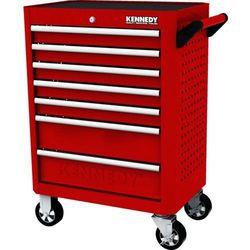 Wózek warsztatowy na kółkach 7-szufladowy 450kg Kennedy KEN5942320K