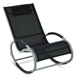 Blumfeldt retiro fotel bujany aluminium poliester czarny