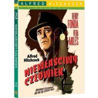 Niewłaściwy człowiek (Blu-Ray) - Alfred Hitchcock, towar z kategorii: Horrory