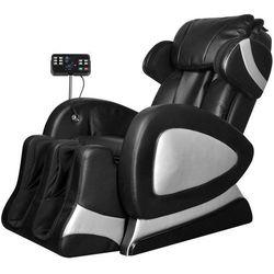 Vidaxl elektryczny, rozkładany fotel masujący z wyświetlaczem