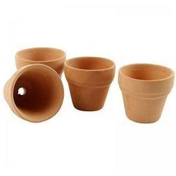 Mini doniczka ceramiczna 3,1cm - 1 szt. - sprawdź w wybranym sklepie