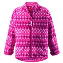 Bluza Polarowa Reima VEMMEL różowa z wzorem z kategorii Pozostała moda i styl