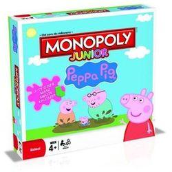 Monopoly, Junior, Świnka Peppa, gra ekonomiczna, kup u jednego z partnerów