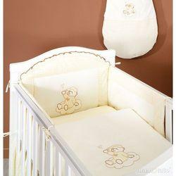 MAMO-TATO pościel 2-el Śpioch na chmurce w ecru do łóżeczka 60x120cm z kategorii Komplety pościeli dla dzieci